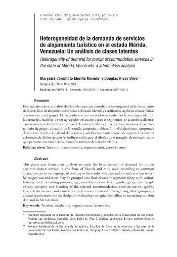Un análisis de clases latentes - Saber ULA