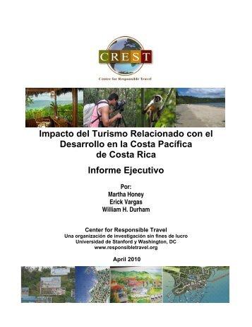 Impacto del Turismo Relacionado con el Desarrollo en la Costa ...