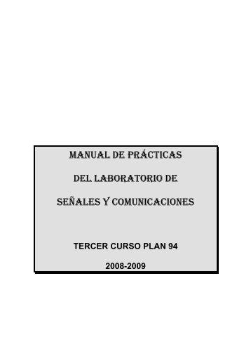 manual de prácticas del laboratorio de señales y comunicaciones