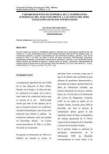 7 - Instituto Geofísico del Perú