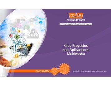 Crea Proyectos con Aplicaciones Multimedia - Bienvenidos