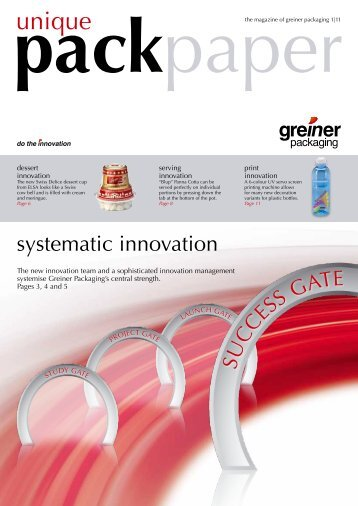 Customer Magazine 2011 Issue 1