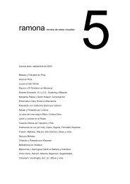 ramona revista de artes visuales