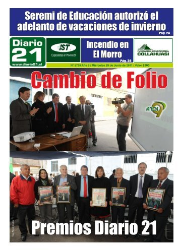 29 de Junio de 2011 - Diario Longino