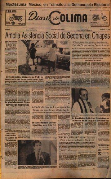 Amplia Asistencia Social de Selena en Chiapas - Universidad de ...