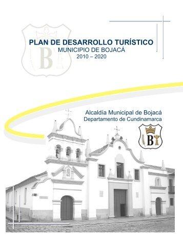 Plan de Desarrollo Turístico Municipal 2010 - 2020 - Bojacá