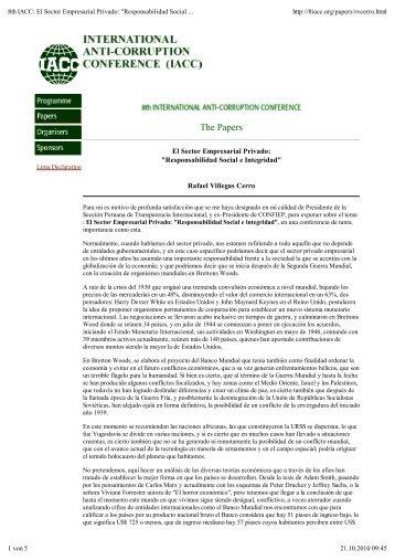 8th_iacc_workshop_El Sector Empresarial Privado