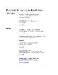 Directorio de Universidades AUSJAL