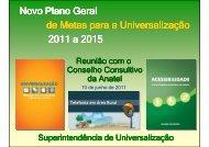 brasil rural - Anatel