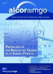 Junio 2007 grupo mgo ALCOR DE MGO seguridad y salud laborales