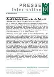 Die komplette Pressemappe als pdf-Download - pressebuero-lies.de