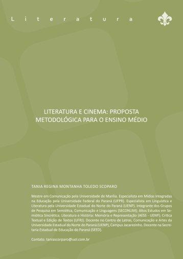 literatura e cinema: proposta metodológica para o ensino médio