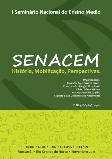 I Seminário Nacional do Ensino Médio: história, mobilização - UERN