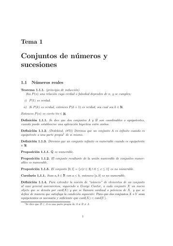 Definiciones y proposiciones - Departamento de Matemática Aplicada