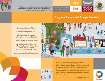 Escuelas de Tiempo Completo - Subsecretaría de Educación Básica ...