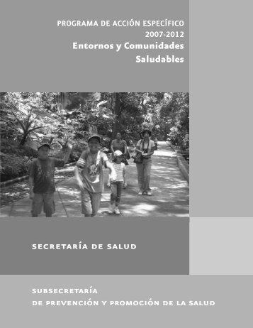 Entornos y Comunidades Saludables subsecretaría - Dirección ...