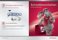 Schnellinstallation Internet - Primacom