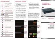 Kurzanleitung HD-Digitalreceiver - Primacom