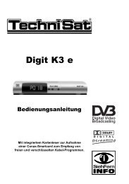 Technisat Digit K3e - Martens Deutsche Telekabel