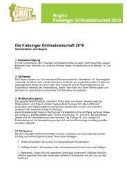 Die Freisinger Grillmeisterschaft 2010 - Prima leben und stereo