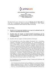 Wertpapier-Kenn-Nr. 625 910 - - ISIN: DE0006259104 ... - Primacom