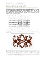 Sistemas de Funciones Iteradas (SFI) - Instituto de Física