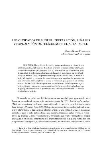LOS OLVIDADOS DE BUñUEL - Centro Virtual Cervantes