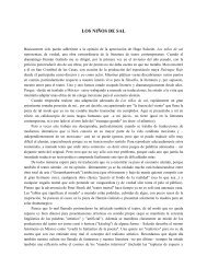 Prólogo para Hernán Galindos »Los Niños de Sal« - Sven Merzbach