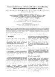 Comparação Preliminar de Desempenho entre ... - DCA - Unicamp