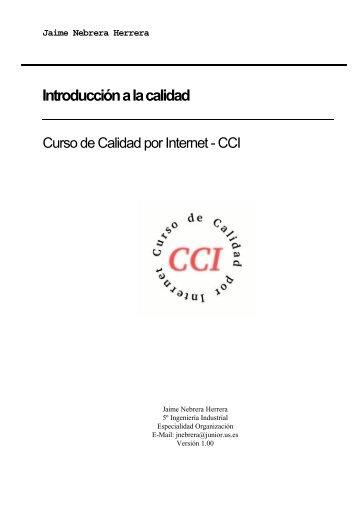 Curso de Calidad por Internet