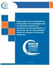 Desarrollo Inclusivo Basado en Comunidad