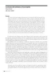 La estructura del sentimiento y el lector implícito Manuel ... - Congreso