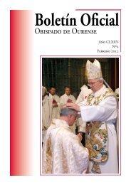 Febrero 2012 - Diocese de Ourense