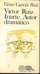 Victor Ruiz Iriarte, autor dramático.pdf - Universidad de Navarra