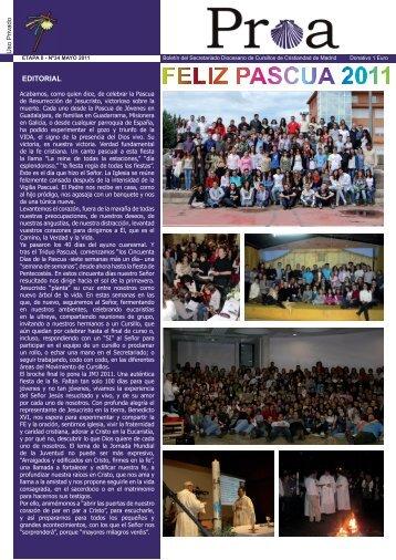 Proa Mayo.indd - Cursillos de Cristiandad de Madrid