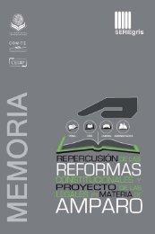 Repercusión de las Reformas Constitucionales y Proyecto de las ...