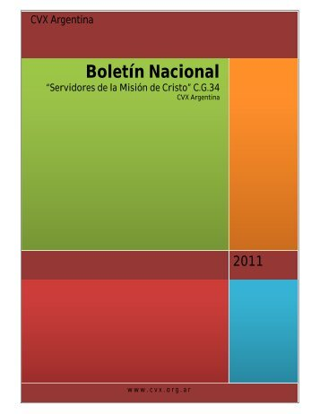 Boletín Nacional - Comunidad de Vida Cristiana de Argentina