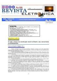 Revista Eletrônica de Abril - Centrodoscapitaes.org.br
