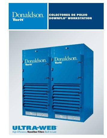 colectores de polvo downflo® workstation - QuimiNet.com