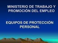 EQUIPO DE PROTECCION PERSONAL - educapalimentos.org