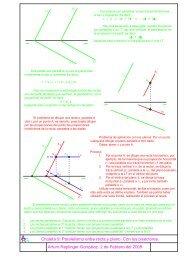 Chuleta 9: Paralelismo entre recta y plano. Con los ... - Educarm