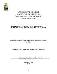 CONVENCION DE OTTAWA - Tesis Electrónicas Universidad de Chile