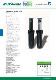 F4 PC - SS - HS TYPENREIHE FALCON® 6504 - Proehl-gmbh.de