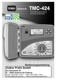 TMC-424 Guide Ger.qxd - Proehl-gmbh.de