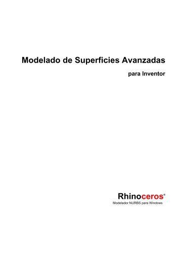 Modelado de Superficies Avanzadas Rhinoceros® - U-Cursos