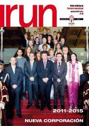 korporazio berria nueva corporación - Ayuntamiento de Irun