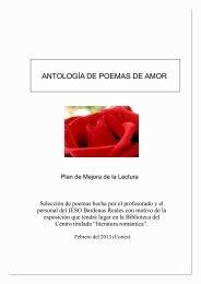 ANTOLOGÍA DE POEMAS DE AMOR - Doña Blanca de Navarra