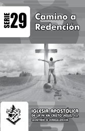 Jesucristo es el camino a la redención - iafcj
