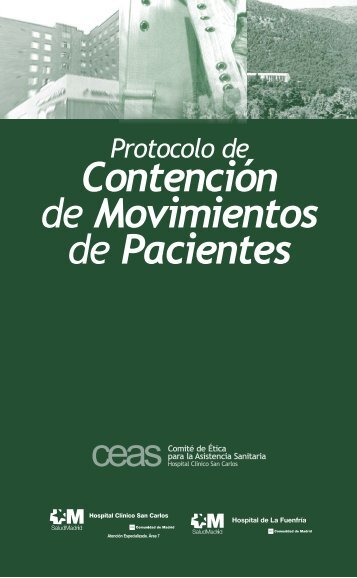 Protocolo de contención de movimientos en pacientes - Acta Sanitaria