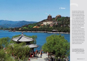 China - Profil-Travel GmbH